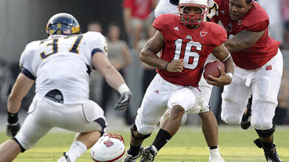 North Carolina State quarterback Russell Wilson will present a challenge to Pitt's defense this week.