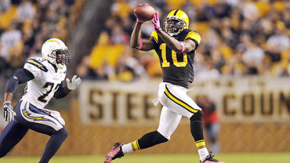 Steelers wide receiver Santonio Holmes's sickle-cell trait will not be an issue in Denver's altitude.