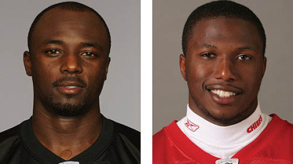 Steelers WR Santonio Holmes vs. Chiefs CB Brandon Flowers