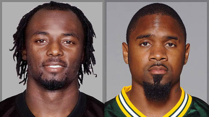 Steelers WR Santonio Holmes vs. Packers CB Charles Woodson