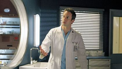 Alex O&#039;Loughlin portrays Dr. Andy Yablonski on &quot;Three Rivers,&quot; the CBS medical drama that is set in Pittsburgh.