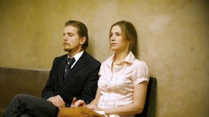 Barry Pepper and Mira Sorvino play a husband and wife dealing with his release from prison in &quot;Like Dandelion Dust.&quot;