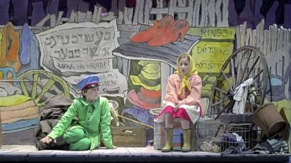 "Chicago Opera Theater staged ""Brundibar"" using costumes and a set by Maurice Sendak."