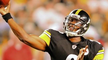 Steelers quarterback Dennis Dixon has attempted one pass in his NFL career.