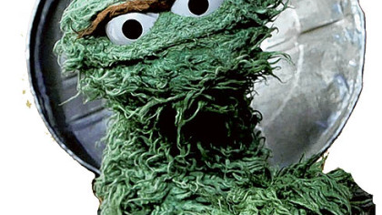 If Oscar the Grouch hadn't gone into show business, he might have been vice president of the United States.