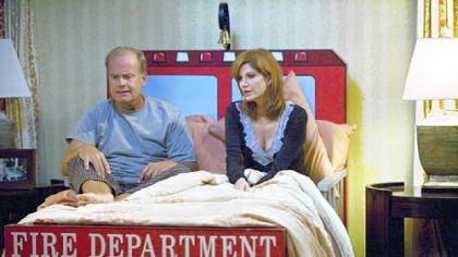 "Hank, played by Kelsey Grammer, and his wife, Tilly, played by Melinda McGraw, must deal with lifestyle changes when he loses his job as a CEO in ""Hank."""