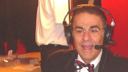 Radio talk show host Fred Honsberger at the Heinz Hall celebration of KDKA Radio's 85th anniversary in 2005.