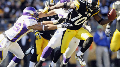Santonio Holmes could see more of the no-huddle offense Monday. Baltimore used the hurry-up offense 31 times in its 30-7 victory against Denver last Sunday.