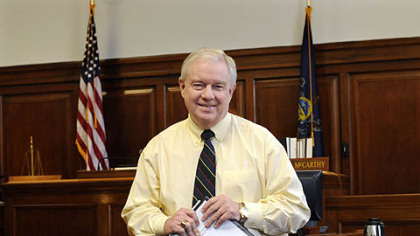 Allegheny County Common Pleas Judge Michael E. McCarthy has proposed creating a veterans court.