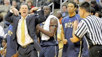 Apparently, Pitt coach Jamie Dixon wants a timeout yesterday in the second half.